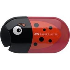 Ascutitoare cu radiera Buburuza Faber Castell