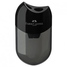 Ascutitoare din plastic dubla cu container Faber Castell