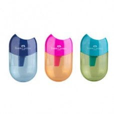 Ascutitoare plastic cu container simpla Apple Trend 2019 Faber Castell