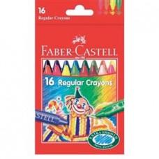 Creioane cerate 12 culori Clown Faber Castell