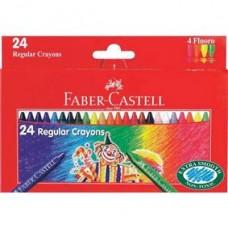 Creioane cerate 24 culori Clown Faber Castell