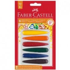 Creioane cerate Degete Faber Castell