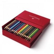 Creioane colorate 36cul/set Grip 2001 Faber Castell