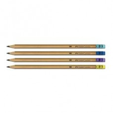 Creion cu radiera Grafit Natur Faber Castell