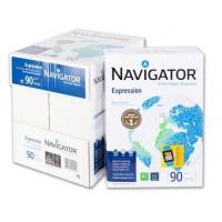 Hartie pentru copiator A4 90g/mp 500coli/top alba Navgator Expression